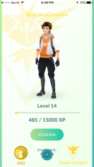Pokémon GO Team Instinct